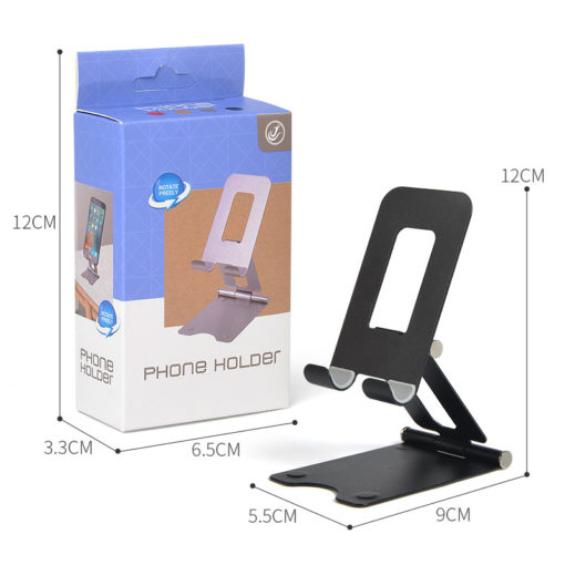 Portable Adjustable Cell Phone Tablet Stand Folding Desk Table Holder Foldable Mount For Cell Phone
