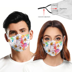 3D Custom Design Protective Mask Adjustable Earlop Reusable Daily Protection Facemasks Washable Outdoor Mask Can Use With Filter