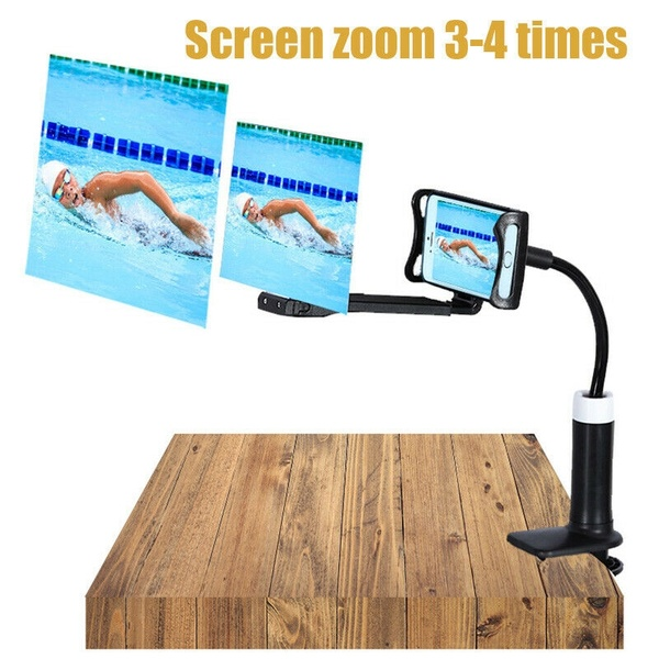 Lazy Phone Holder screen amplifier Projection Video Magnifier lazy stand HD Amplifier for phone with Lazy phone Clip