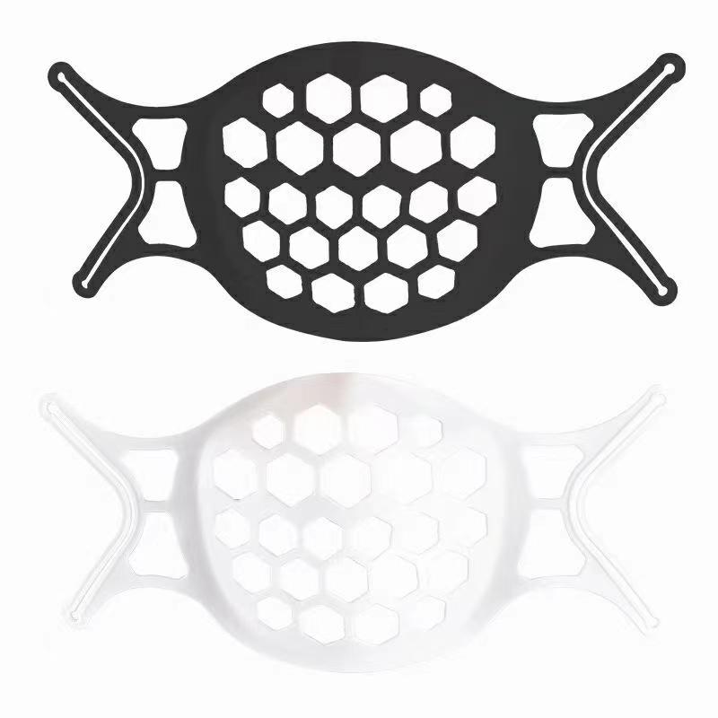 2021 New Style Soft 3D Face Mask Brackets Breathe Mask Inner Support Frame Washable Mask Stent Reusable Support Holder For Face