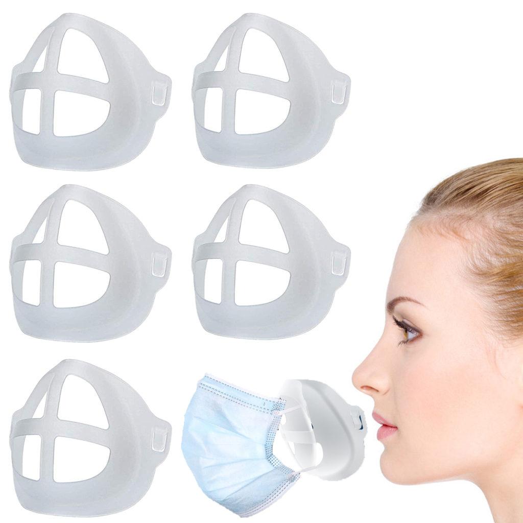 Comfortable Breathe Mask inner Support Frame 3D Mask Bracket Washable Mask Stent Reusable support Holder For Face